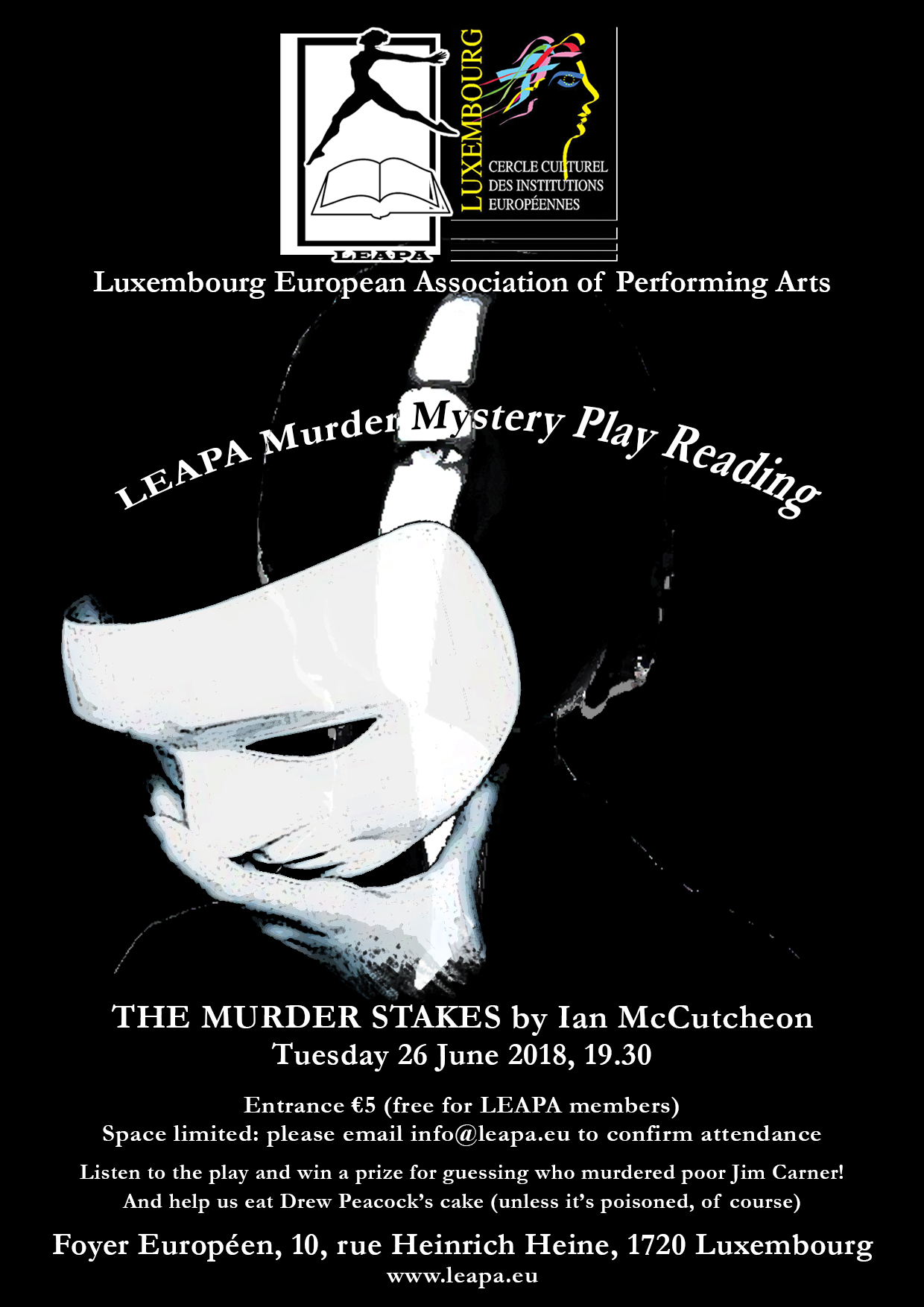 LEAPA Murder Mystery Play reading